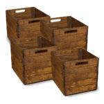 Kallax Kiste Vintage 4er set