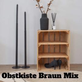 Obstkiste Mix Braun