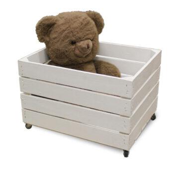 Spielzeugkiste - Mobil - Neu - Weiß - 50x40x34cm