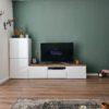 IKEA Besta Abdeckplatte - Alte Eiche - Gebürstet