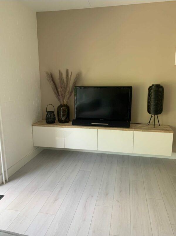 IKEA Besta Abdeckplatte - Gerüstholz - Alter Look