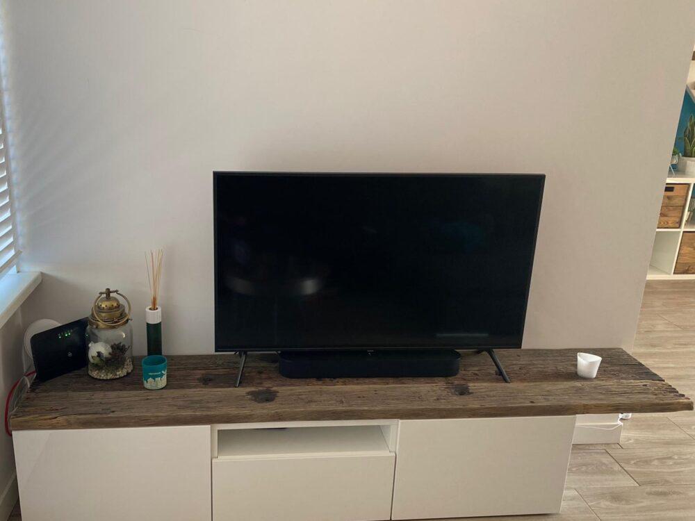 IKEA BESTA DECKPLATTE – ALTHOLZ EICHE – GEBÜRSTET